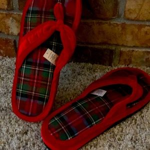 Victoria's Secret Christmas Slippers